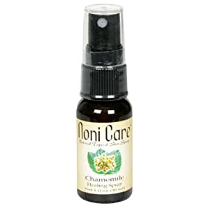 Noni Care Natural Topical Skin Spray, Chamomile, 1-Ounce Bottles (Pack of 3)