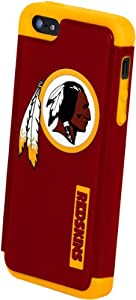 Forever Collectibles Washington Redskins Rugged Dual Hybrid Apple iPhone 5 & 5S... by Forever Collectibles