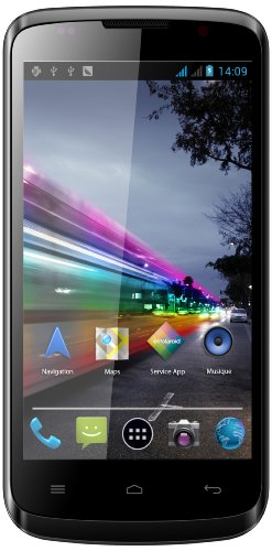 Polaroid Ruby dual-SIM Smartphone UNLOCKED (4.2 Zoll), 4 GB, Android 4.2 (Jelly Bean), Schwarz