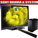 Sony BRAVIA EX 500 Series 55-Inch LCD TV, Black + Sony Virtual 5.1 Channel  ....