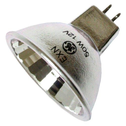 Exn E26 Bulb 50w 120v Medium Base Halogen Mr16 Flood: (20 Pack) 50 Watt MR16 GE ConstantColor Halogen Light Bulb