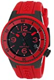 Swiss Legend Women's 11840P-BB-01-RD Neptune Black Dial Red Silicone Watch