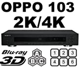 OPPO ブルーレイディスク/DVDプレーヤー 全世界対応 BDP-103