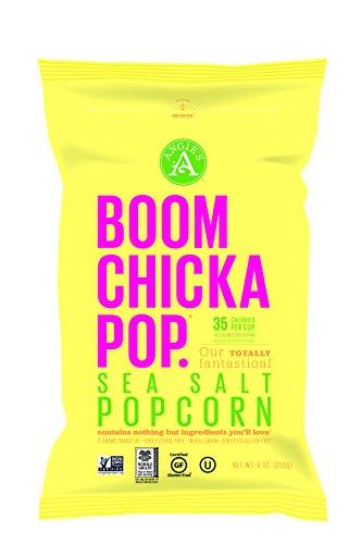 Angie's Boomchickapop Sea Salt Popcorn, 9 Ounce (Angies Popcorn Seasalt compare prices)