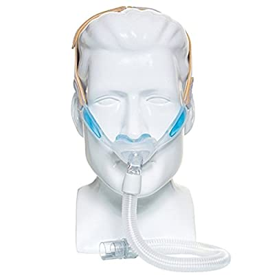 Philips Respironics 1105167 Nuance & Nuance Pro Nasal Pillow CPAP Mask with Gel Nasal Pillows, Nuance Pro Gel Frame (S, M, L Pillow Included)