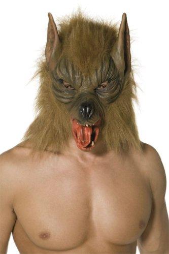Werwolfmaske Maske Werwolf Wolf Halloweenmaske Vollmaske Latex Horror Halloween