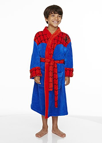 Groovy 90949-L 90948-M Spiderman Dressing Gown - Spiderman - Medium 7-9 Yrs