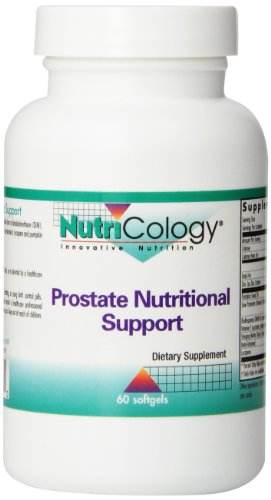 Nutricology Prostate Nutritional Support, Softgels, 60-Count