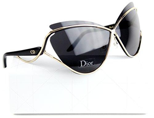 b5dd2e48f808 Christian Dior Audacieuse 1 S 4BT Sunglasses (04BT) Gold   Gray Lens