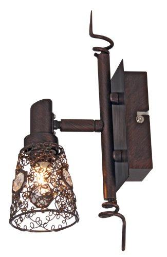 "Wandspot ""Cottage"", Breite 14 cm, Metall rost 1112420"
