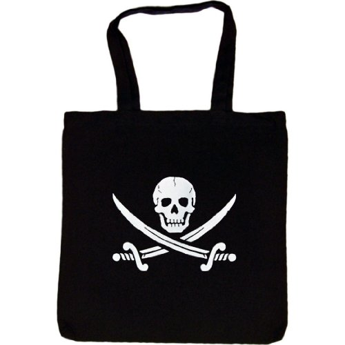 Tote Bag : SKULL AND CROSSED SWORDS