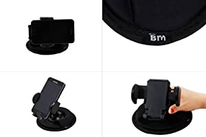 Bundle Monster Car Adjustable Friction Mount for GPS, Iphone, Cell Phone, Kindle Fire, and etc. from Bundle Monster