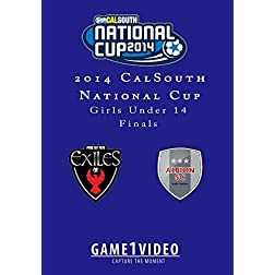 Exiles Black vs Albion SC White GU14 Final 2014 Nationals Cup