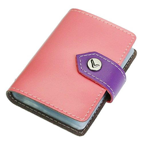 kilofly-credit-card-holder-book-style-with-26-card-pockets-denny-with-kilofly-mini-gift-for-you-card