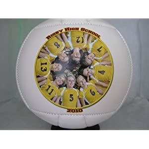 """LONG ISLAND UNIVERSITY - BROOKLYN Fans - Blackbirds Volleyball - Create YOUR personal fan ball, we can print your favorite photo, graphic, and text message on our signature balls in FULL color."