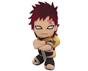"Great Eastern GE-7036 Naruto Gaara 7"" Plush Toy"
