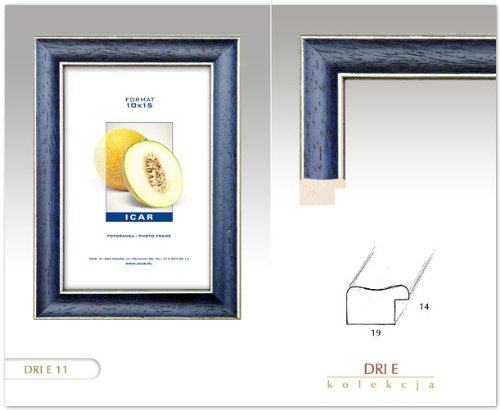 Cadres cadre dri e bleu 20x30 cm cadre en bois cadre photo - Cadre photo 20x30 ...