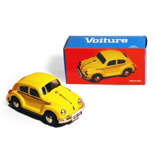 CAR - Retro Tin Volkswagen Collectable - Yellow