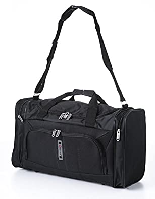 5 Cities Sac de sport grand format HOLD602 BLACK Noir 32 L