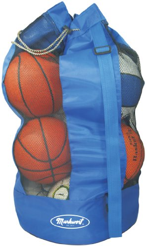 [해외]Markwort 8 농??구 용량 공 가방, 블루/Markwort 8 Basketball Capacity Ball Bag, Blue