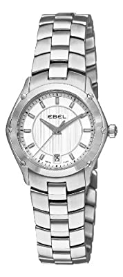 EBEL Women's 1216015 Sport Analog Display Swiss Quartz Silver Watch