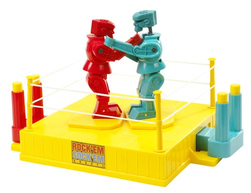 Big Save! Rock 'Em Sock 'Em ROBOTS Game