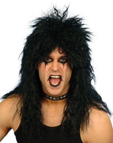 Smiffys Hard Rocker Parrucca