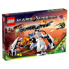 Mars Mission 7649: MT-201 Ultra-Drill Walker - Lego