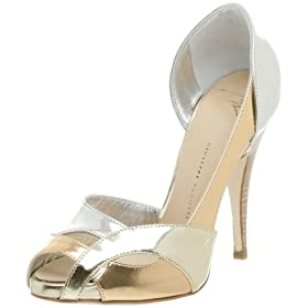 Endless.com: Giuseppe Zanotti Women's E80066 Peep Toe Pump: Categories - Free Overnight Shipping & Return Shipping :  pumps metallic pumps shoes giuseppe zanotti