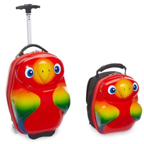 Travel Buddies TRD-TB106 Papagei-Set Rollkoffer und Rucksack kaufen
