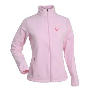 Houston Texans NFL Sleet Ladies Long Sleeve Jacket (Mid Pink) by Antigua
