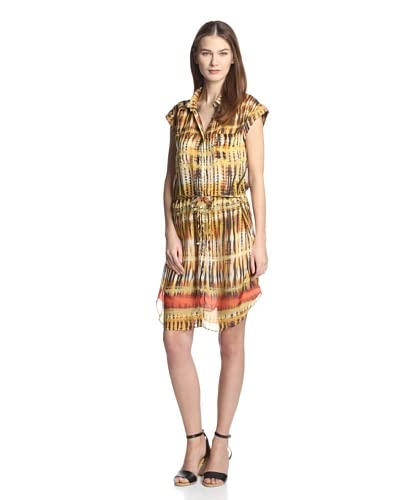 DA-NANG Women's Woven Shirt Dress
