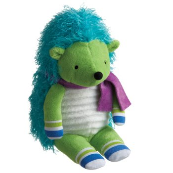 "Monkeez ""Cecil"" Mini Green Hedgehog Plush"