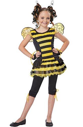 [POPLife Buzzin' Around Child Bumble Bee Costume] (Eye Makeup For Bumble Bee Costume)