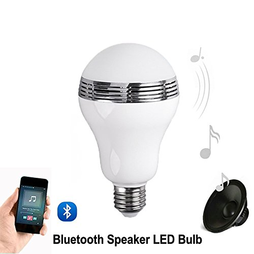 Tanbaby e27 led light bulb with bluetooth music speaker for Best bluetooth light bulb speaker