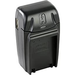 Watson Compact AC/DC Charger for BLN-1 Battery -For Olympus BLN-1 Type Battery