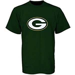 NFL Green Bay Packers Youth Primary Logo T-Shirt - Green by Reebok