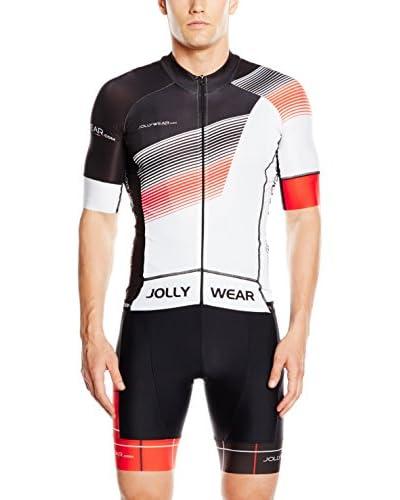 JOLLYWEAR Fahrradshirt Criterium schwarz/grau