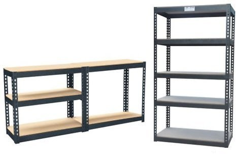 Zoozio® - 1.5m Heavy Duty Steel & MDF 5 Tier Racking Shelf or Workbench - Massive 750Kg Capacity