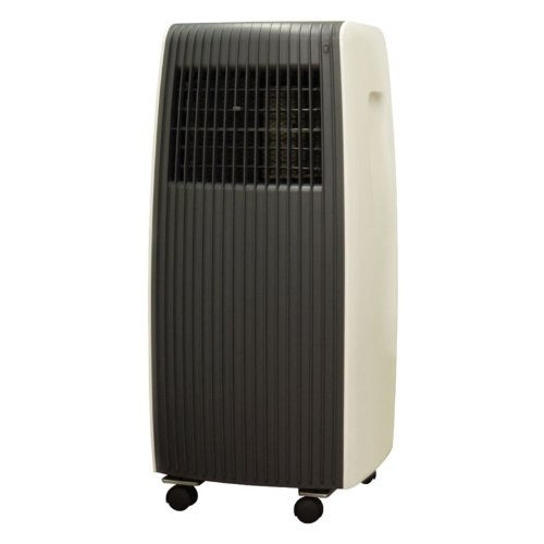 Sunpentown Portable Air Conditioner with Remote - 8000 BTU Color - Grey/Off-White