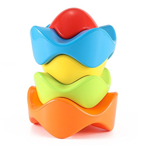 Stacking Toy Puzzles : Zuiniubi iq stacking puzzle block stacker eggs for baby
