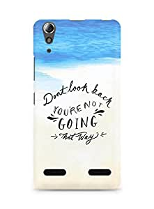 AMEZ dont look back you are not going that way Back Cover For Lenovo A6000