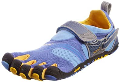 Vibram Women's Fivefingers KomodoSport Blue/Yellow/Grey 36