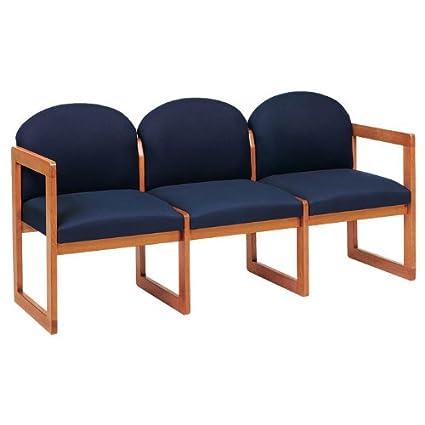 Lesro C3301G3 Classic Round Back Series 3 Seat Sofa