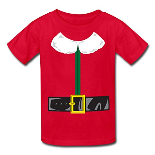 Spreadshirt Kids' Elf Costume T-Shirt