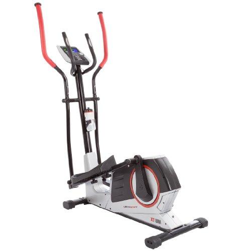 XT-Trainer 1000A Crosstrainer/Ellipsentrainer mit Handpuls-Sensoren inkl. Trinkflasche