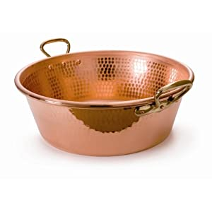 Mauviel Copper Jam Pan - Hammered