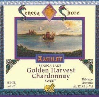 "Nv Seneca Shore Wine Cellars ""Golden Harvest"", Seneca Lake, Sweet Chardonnay Table Wine, 750 Ml"