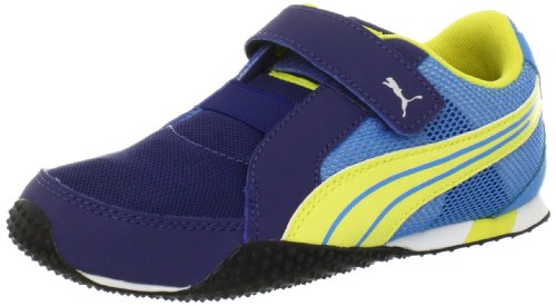 PUMA H-Mesh V Sneaker (Toddler/Little Kid/Big Kid),Twilight Blue/Aurora/Malibu Blue,8 M US Toddler