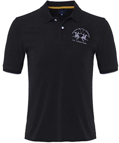 la-martina-plain-polo-shirt-black-xxxl